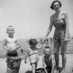 At_beach_Ontario_1959